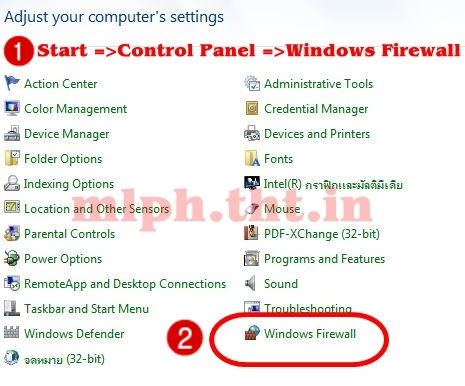 how to turn off firewall manually windows 7